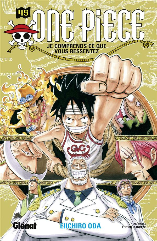 ONE PIECE - EDITION ORIGINALE - TOME 45 Oda Eiichiro Glénat